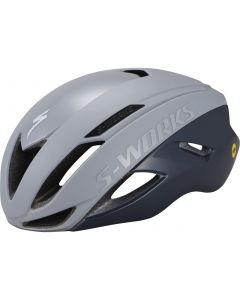 Specialized S-Works Evade cykelhjelme med ANGi and MIPS - Cool Grey/Slate
