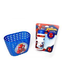 Disney Spider-MAN Cykelkurv, Flaske og Klokke