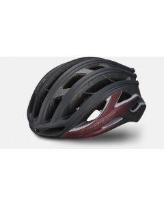 Specialized S-Works Prevail II Vent with ANGi - Matte Maroon/Matte Black