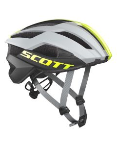 Scott ARX plus helmet MIPS cykelhjelm - Grå/gul