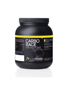 PurePower Carbo Race 1,5 kg energipulver - Citrus