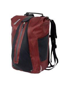 Ortlieb Vario cykeltaske rygsæk - Dark chili