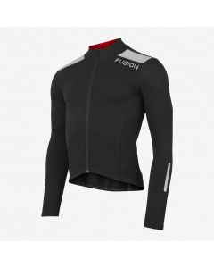 Fusion S3 Cycling Jacket vinter cykeljakke - Sort