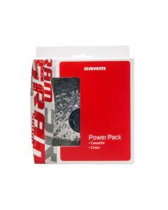 Kæde og kassette 8 gear - Shimano/SRAM
