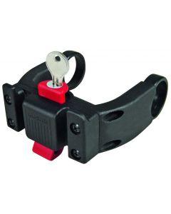 Klickfix E-bike adaptor til frontkurv med lås