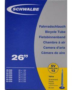 Schwalbe SV13L cykelslange MTB 26x1,50-2,50