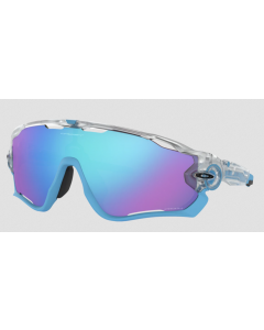 Oakley Jawbreaker sportsbriller - Polished white/prizm low light