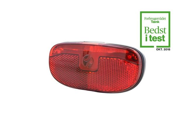 SPANNINGA Rear light DUXO Xb baglygte - Sort