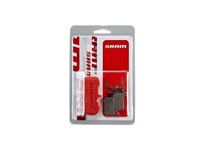 SRAM Disc brake pad Set for Road/Level Ultimate/TLM Organic pad Aluminum plate bremseklods
