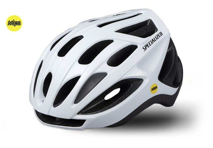 Specialized Align cykelhjelm med MIPS - Gloss white