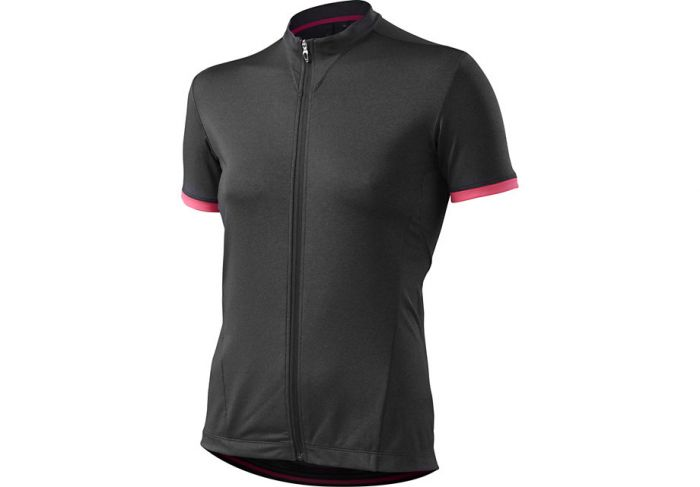 Specialized Women's RBX Comp Jersey cykeltrøje til damer - Carbon Heather/Neon Pink