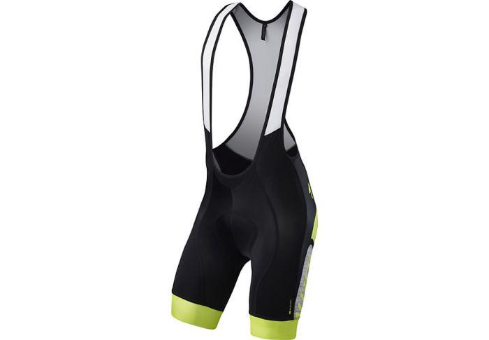 Specialized SL Expert Bib Shorts cykelbuks - Sort m. gul