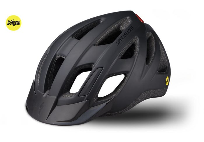 Specialized Centro LED MIPS cykelhjelm - Sort