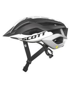 Scott ARX MTB Plus cykelhjelm med MIPS - Black/white