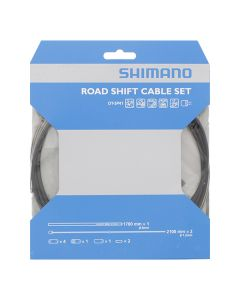 Shimano gearkabel sæt til Racer og hverdagscykler - rustfri