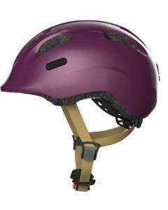 Abus Smiley 2.0 cykelhjelm til børn - Royal purple