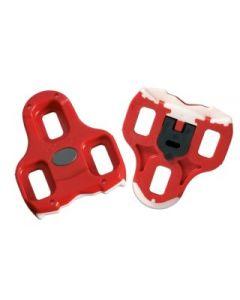 Look Keo original klampe til cykelsko 9 grader - Rød