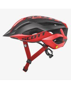 Scott ARX MTB Plus cykelhjelm med MIPS - Red black
