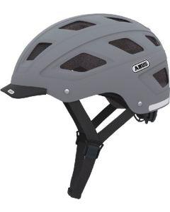 Abus Hyban cykelhjelm med lygte - Concrete grey