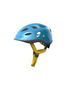 Abus smiley børnehjelm - Radiserne sporty blue