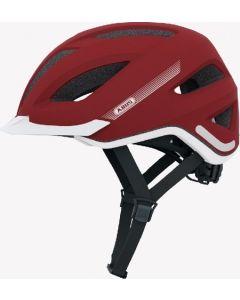 Abus Pedelec cykelhjelm med lys - Marsala red