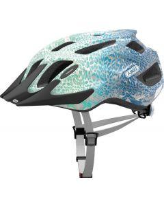 Abus Mountx cykelhjelm med lys - Blue animal