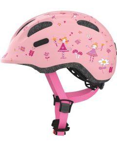 Abus Smiley 2.0 cykelhjelm til børn - Rose princess