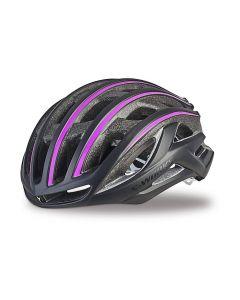 Specialized S-Works Prevail II cykelhjelm damemodel - Sort/lilla