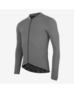 Fusion Light LS Cycling Jersey cykeltrøje - Grey melange