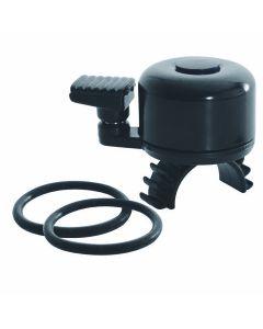 OXC Bell Quick Flick Black, silicon strap - Sort