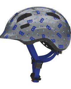 Abus Smiley 2.1 cykelhjelm til børn - Blue mask