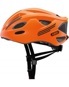 Abus S-Cension cykelhjelm - Neon orange