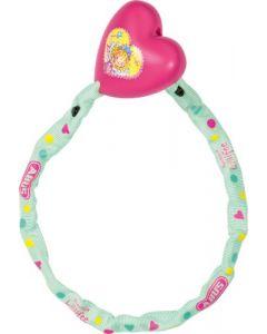 Abus kædelås 1510 Princess Lillifee til børn cykellås - Pink