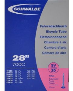 Schwalbe SV20XXL X-light 80 mm. cykelslange