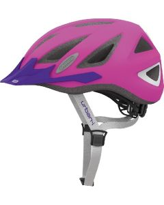 Abus Urban-I v.2 cykelhjelm - Neon pink