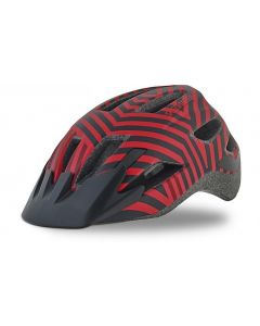 Specialized Shuffle Youth LED cykelhjelm til børn med lys - Red/Black Razzle
