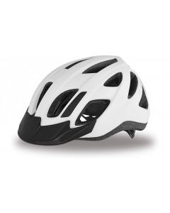 Specialized Centro LED cykelhjelm med lys - White