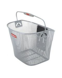 Klickfix cykelkurv Uni basket 16 L - Sølv