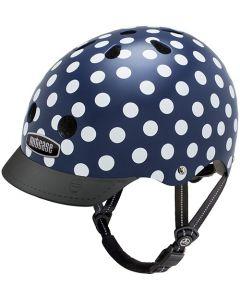 Nutcase GEN3 Street cykelhjelm - Navy dots