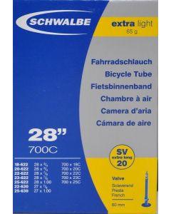Schwalbe SV20 Extra light cykelslange 700x18-25C