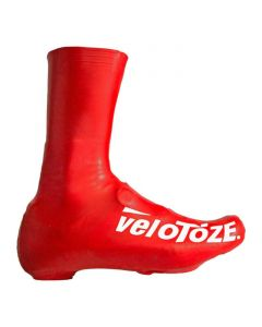 VeloToze Tall Shoe covers skoovertræk road - Rød