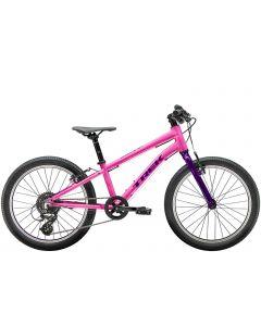 """Trek Wahoo 20"""" MTB børnecykel - Flamingo Pink/Purple Lotus"""