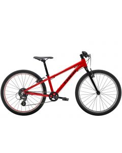 "Trek Wahoo 24"" MTB børnecykel - Viper Red/Trek Black"