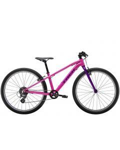 """Trek Wahoo 26"""" MTB børnecykel - Flamingo Pink/Purple Lotus"""