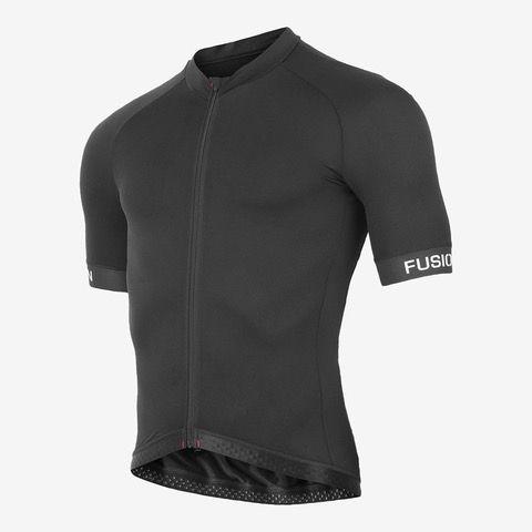 Fusion C3+ Cycling jersey cykeltrøje - Sort