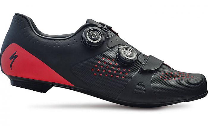 Specialized Torch 3.0 Road Shoes cykelsko til landevej - Black/red
