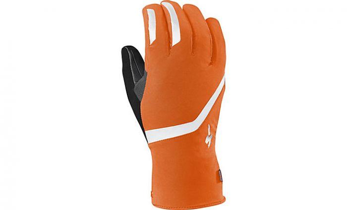 Specialized Deflect H2O Therminal vinter cykelhandske - Neon orange