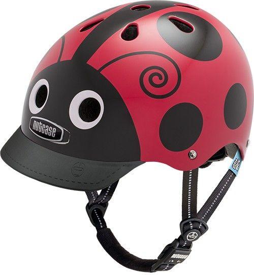 Nutcase Little Nutty GEN3 cykelhjelm til børn - Ladybug