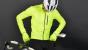 Fusion S1 cycling jacket cykeljakke - Neongul
