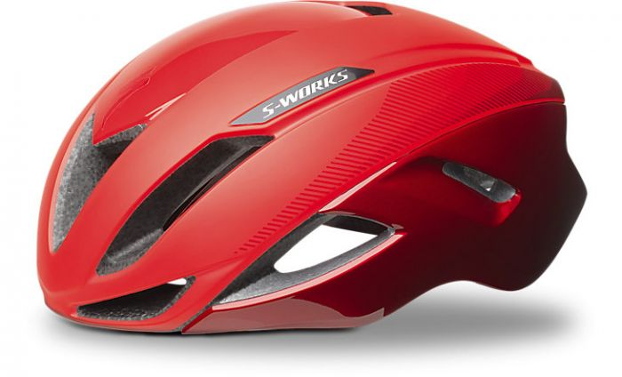 Specialized S-Works NEW Evade cykelhjelm - Rocket Red/Candy Red